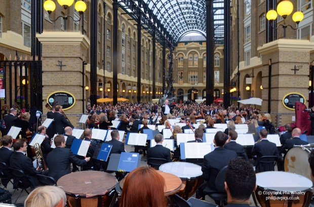 Orchestra in the Hay's Galleria